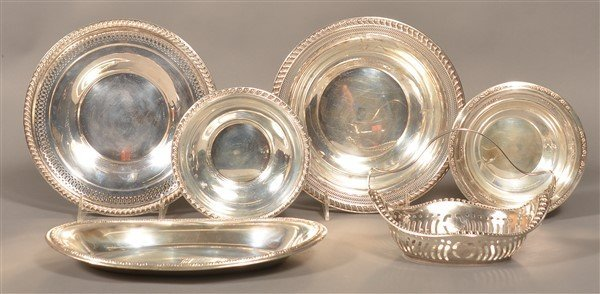Six Various Pieces of Sterling Silver.