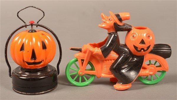 Group of Plastic Halloween Items. - 2