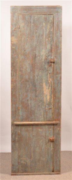 Primitive Softwood Chimney Cupboard.