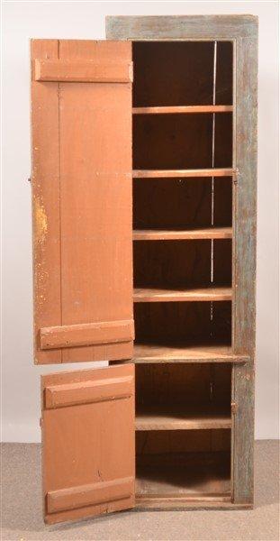 Primitive Softwood Chimney Cupboard. - 2