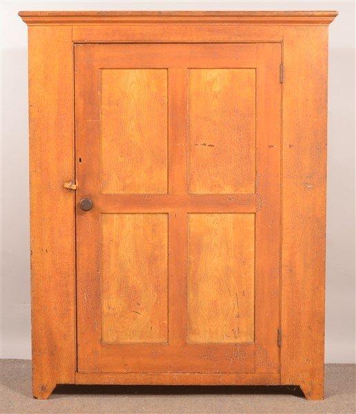 PA 19th Century Softwood Storage Cupboard.