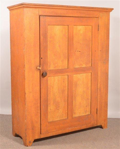 PA 19th Century Softwood Storage Cupboard. - 2