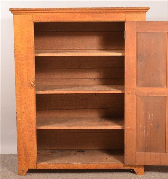 PA 19th Century Softwood Storage Cupboard. - 3