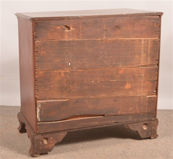 Chippendale Mixed Hardwood Chest of Drawers. - 3