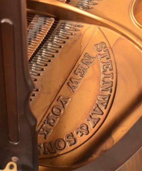 Steinway Mahogany Baby Grand Piano, C. 1931. - 3