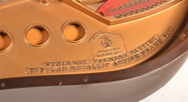 Steinway Mahogany Baby Grand Piano, C. 1931. - 4
