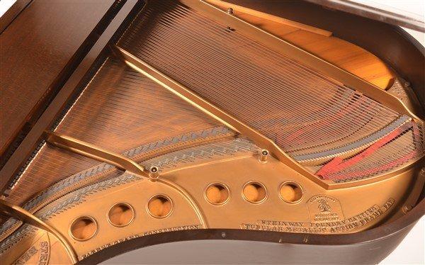 Steinway Mahogany Baby Grand Piano, C. 1931. - 5