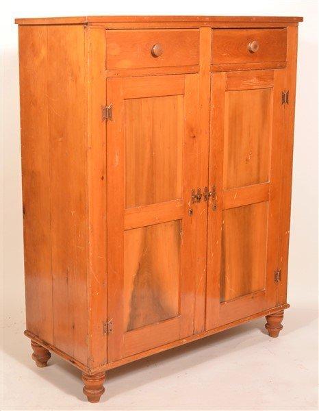 Pennsylvania Softwood Jelly Cupboard.