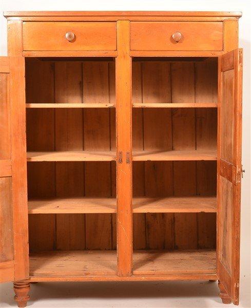 Pennsylvania Softwood Jelly Cupboard. - 2