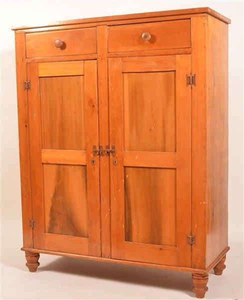 Pennsylvania Softwood Jelly Cupboard. - 4