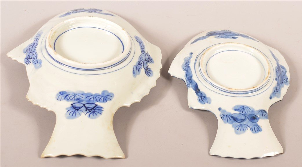 Two Imari Oriental porcelain Fish Form Trays. - 3