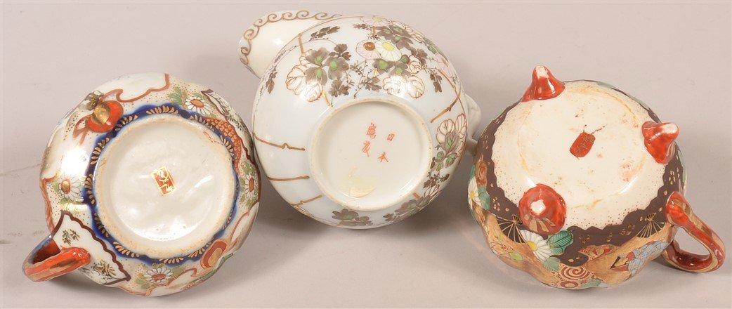 15 Japanese Cream Pitchers and Sugar Bowls. - 2