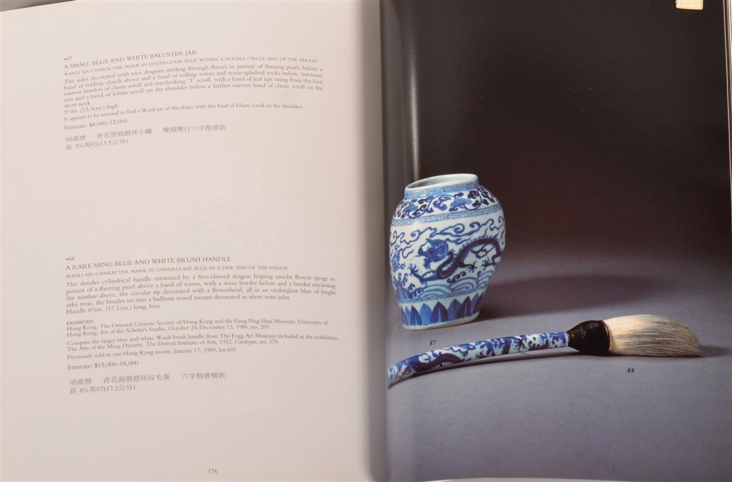 Chinese Porcelain Blue and White Dragon Jar. - 7