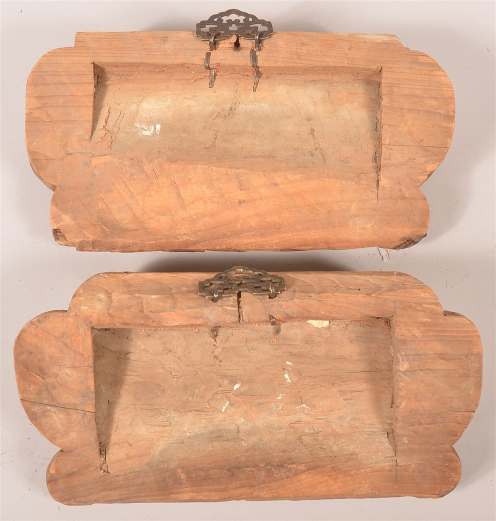 Pair of Chinese Carved Architectural Elements. - 2