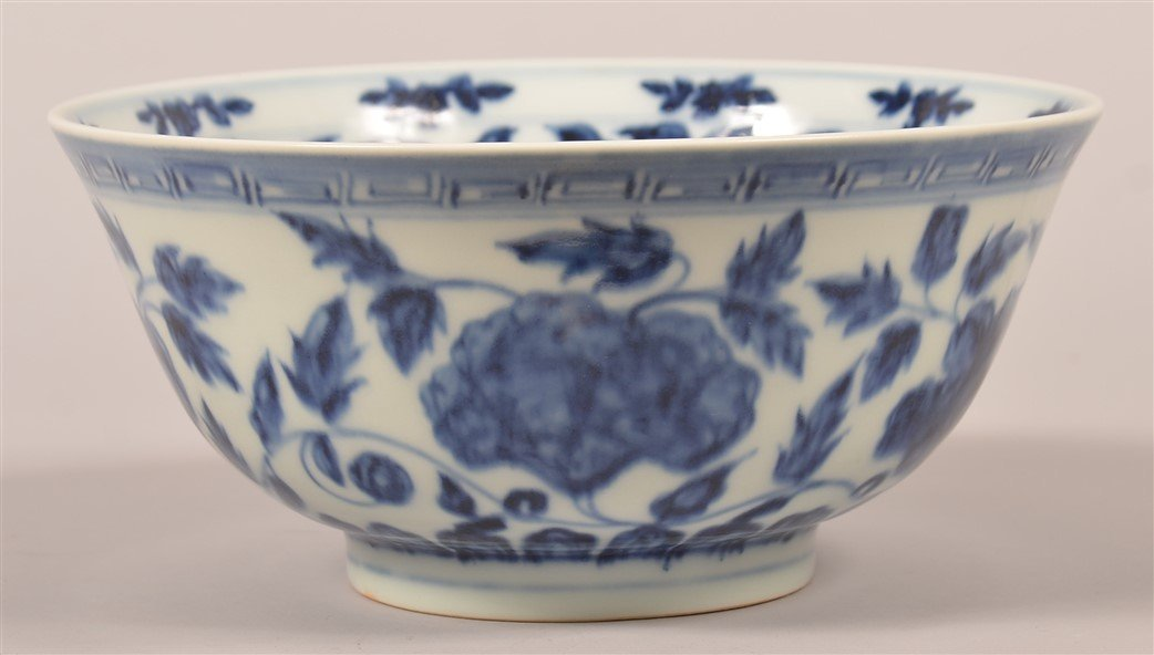 Chinese Blue and White Porcelain Bowl.