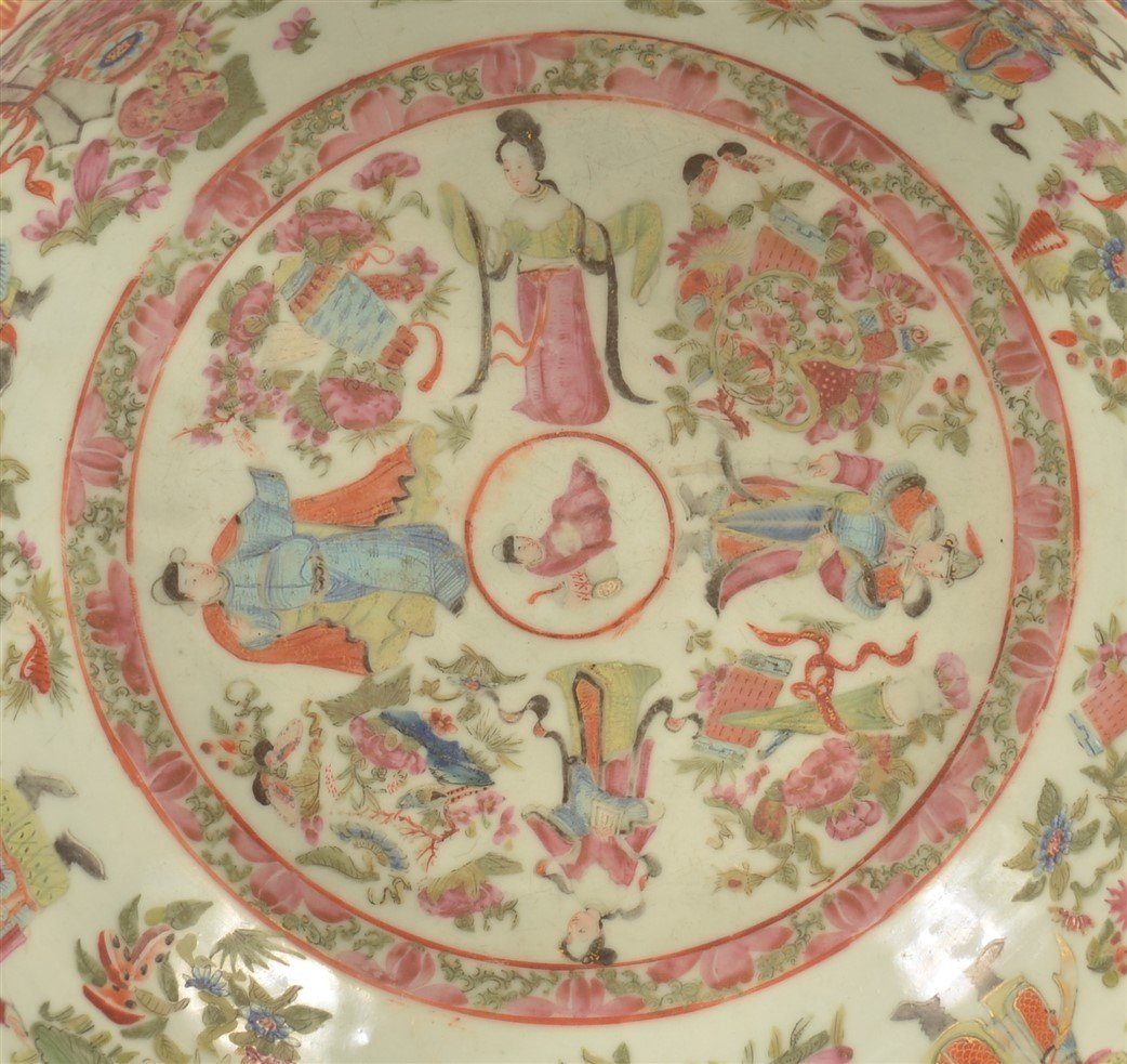 Chinese Export Porcelain Famille Rose Bowl. - 3