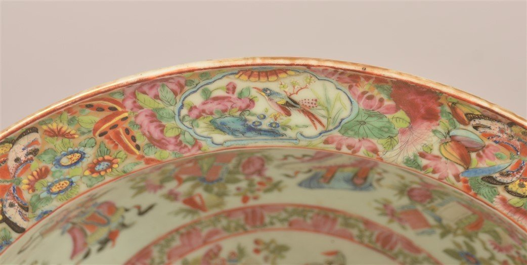 Chinese Export Porcelain Famille Rose Bowl. - 4
