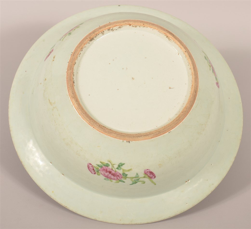 Chinese Export Porcelain Famille Rose Bowl. - 5