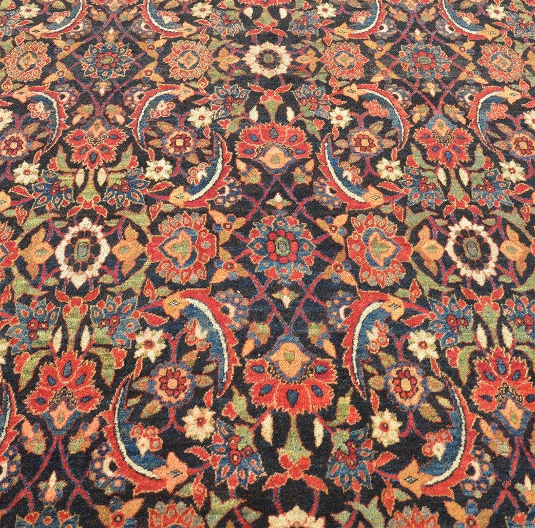 Antique Floral Pattern Room Size Oriental Rug. - 2