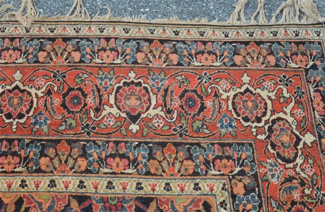 Antique Floral Pattern Room Size Oriental Rug. - 4