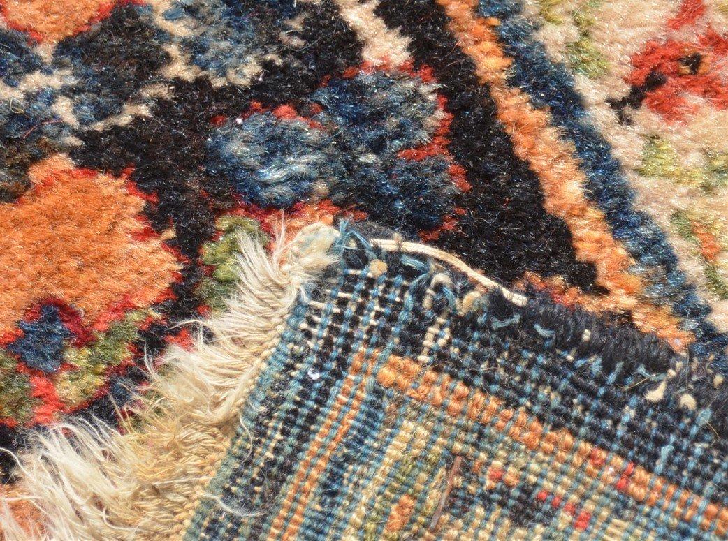 Antique Floral Pattern Room Size Oriental Rug. - 6