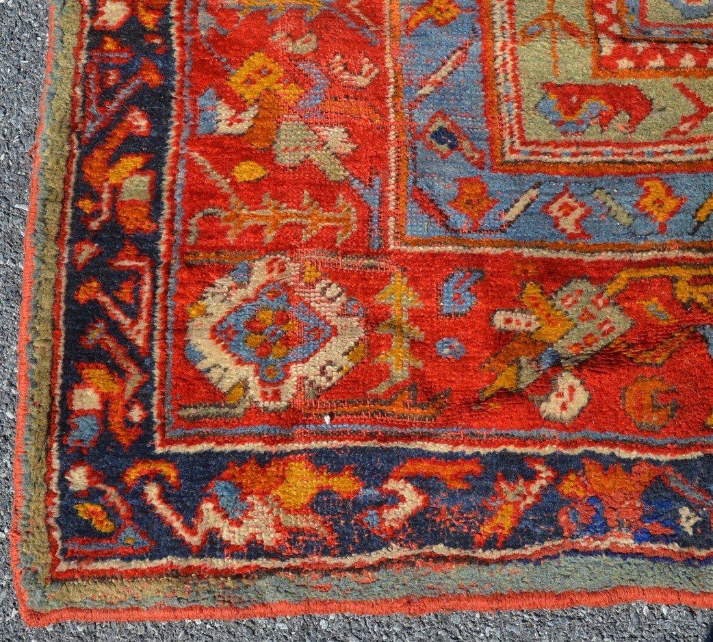 Antique Floral Pattern Oriental Room Size Rug. - 3
