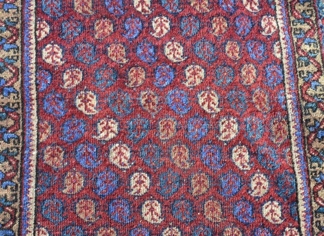 Antique Floral Pattern Oriental Runner. - 2