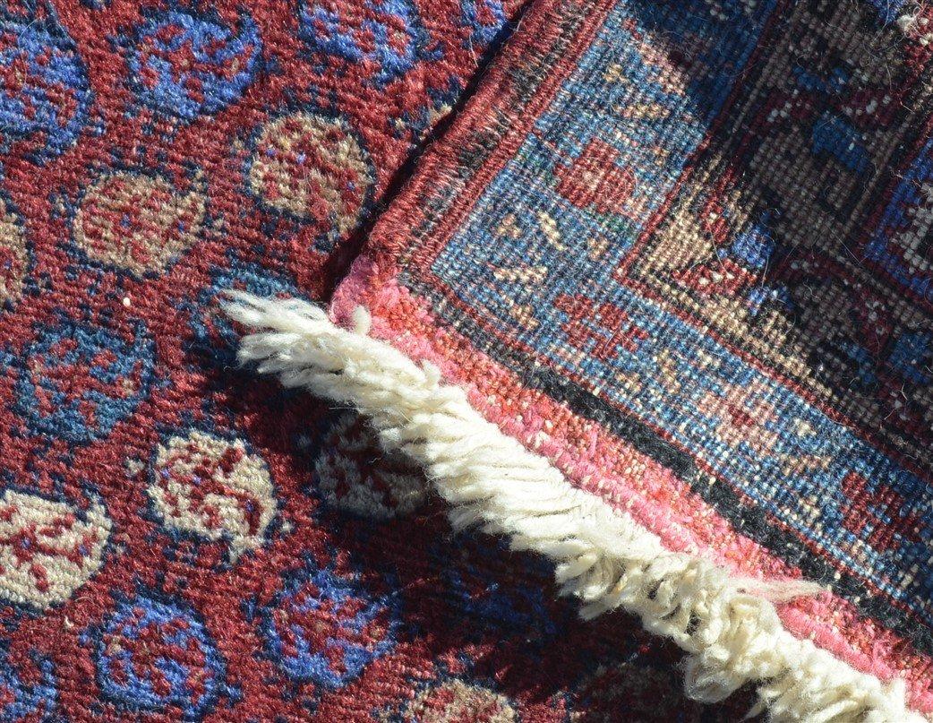 Antique Floral Pattern Oriental Runner. - 4