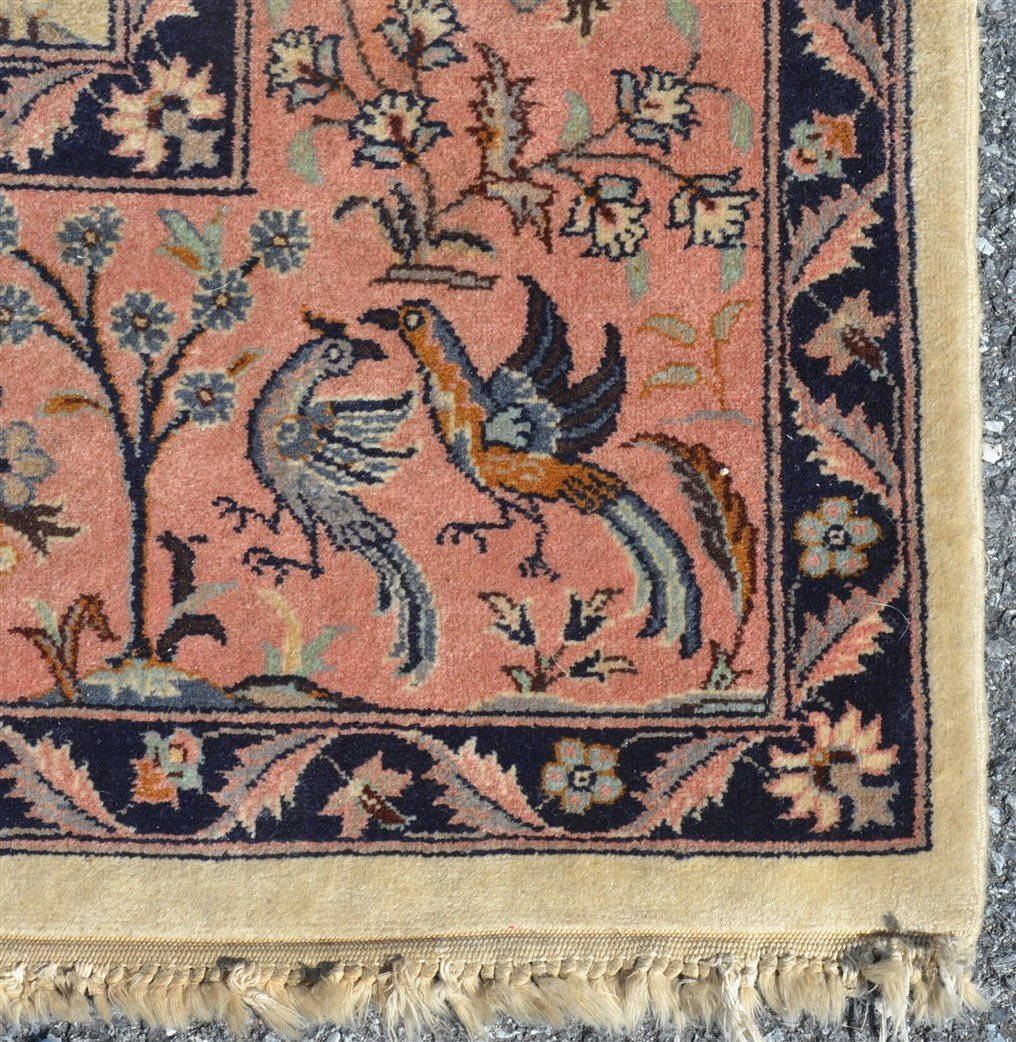Modern Pictorial with Animals Oriental Area Rug. - 2