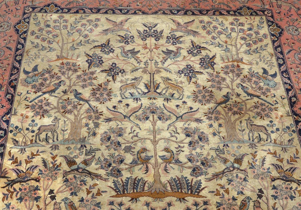 Modern Pictorial with Animals Oriental Area Rug. - 5