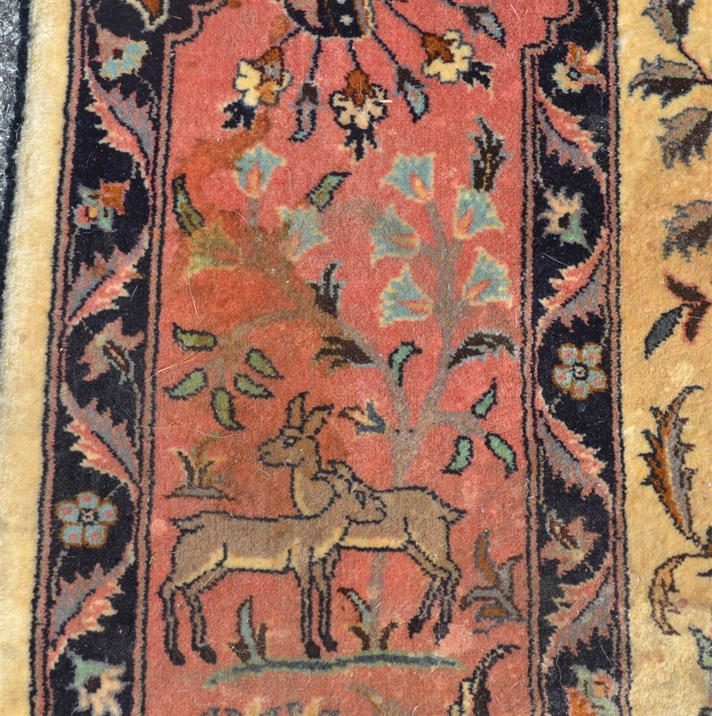 Modern Pictorial with Animals Oriental Area Rug. - 6
