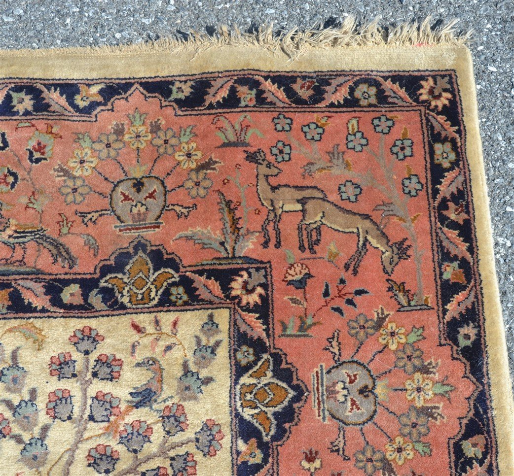 Modern Pictorial with Animals Oriental Area Rug. - 7
