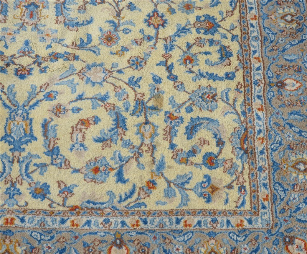 Modern Floral Pattern Oriental Area Rug. - 3