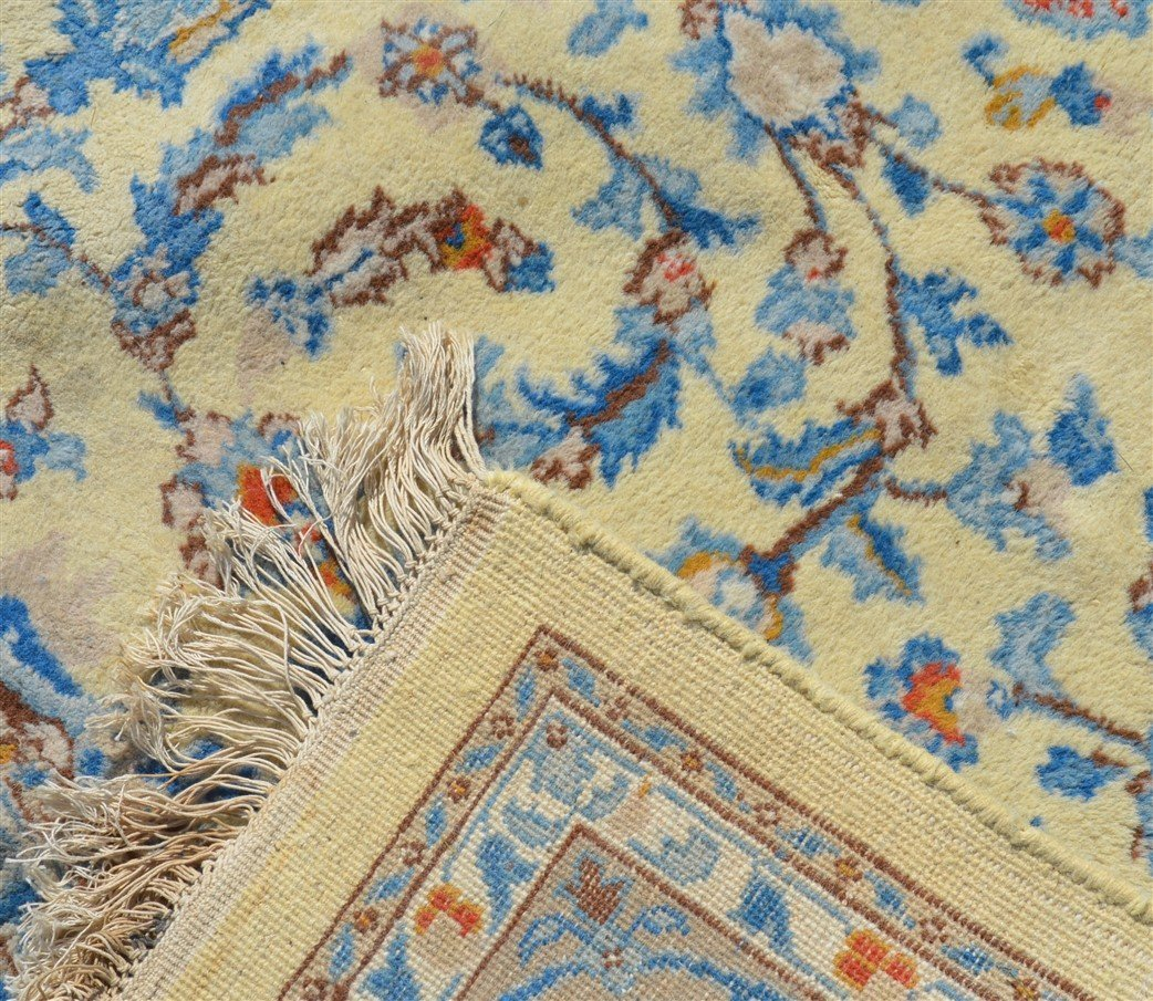 Modern Floral Pattern Oriental Area Rug. - 6