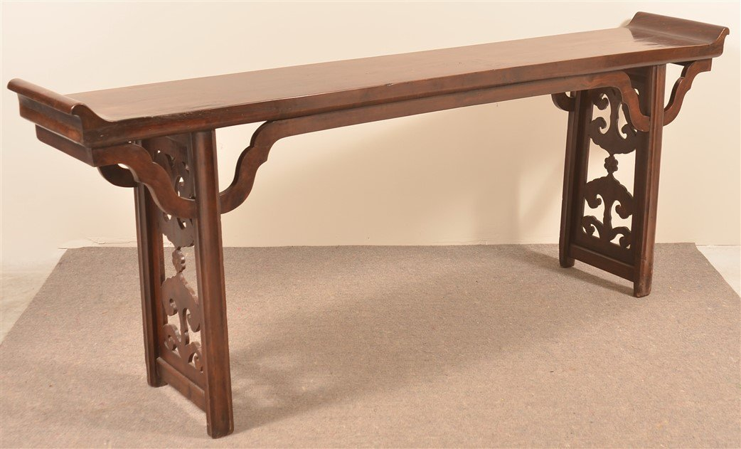 Antique Chinese Hardwood Altar Table.