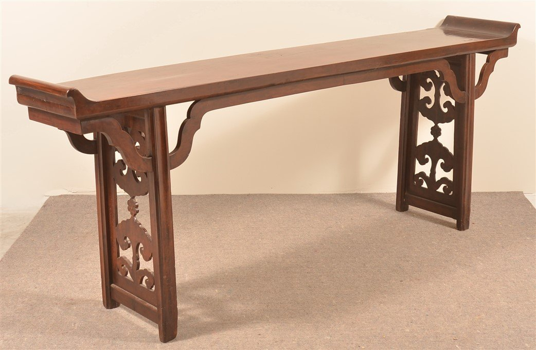 Antique Chinese Hardwood Altar Table. - 4