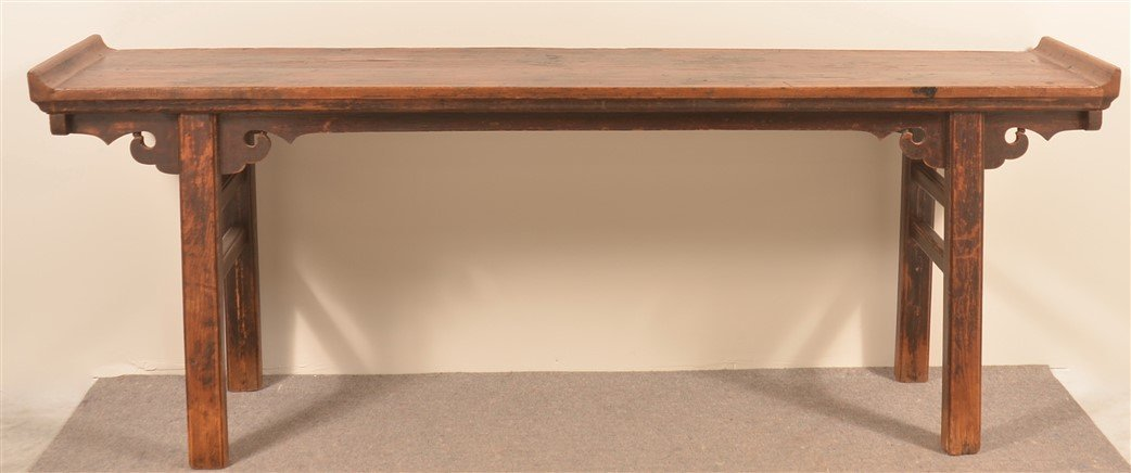 Antique Chinese Hardwood Altar Table. - 2