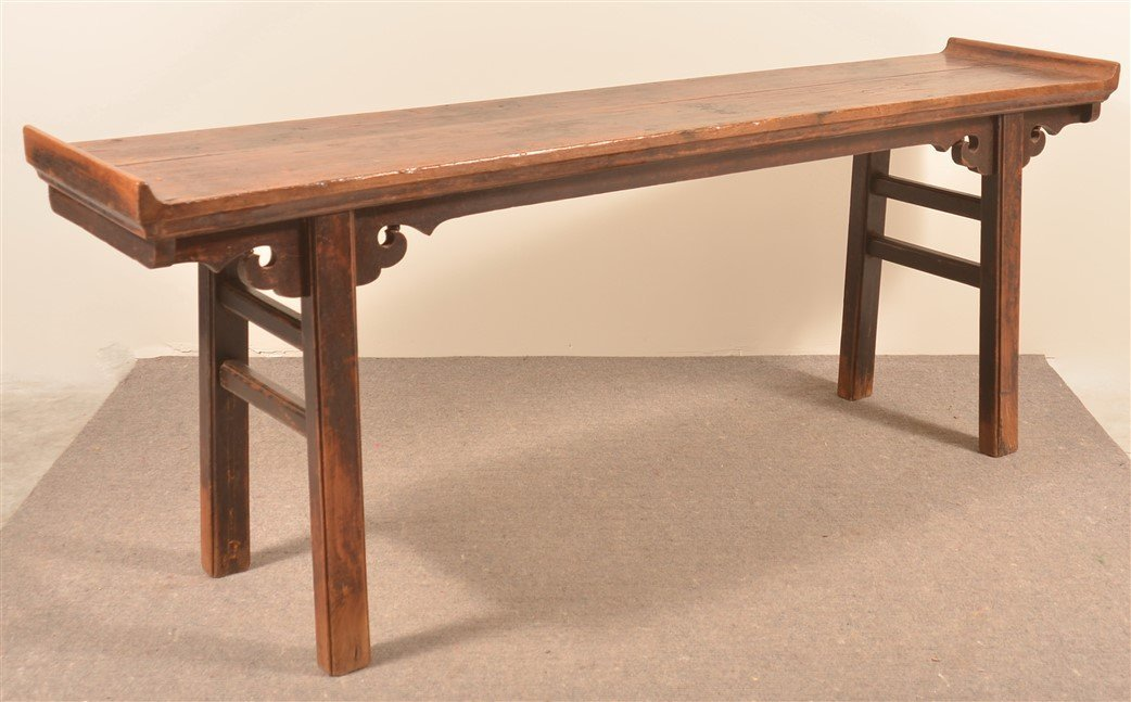 Antique Chinese Hardwood Altar Table. - 3
