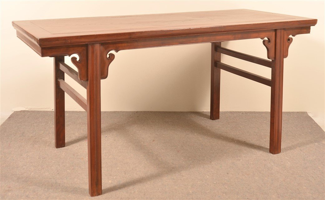 Antique Chinese Elmwood Table.