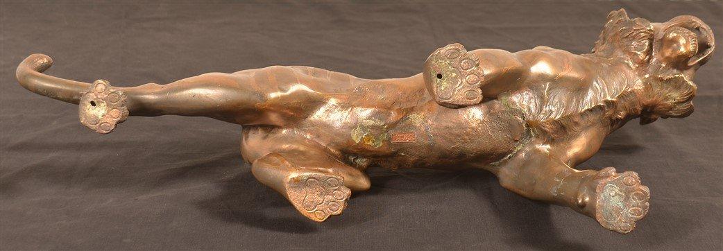 Japanese Meiji Period Hollow Cast Bronze Sculpture - 4