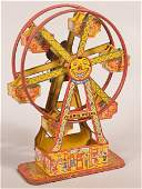 J Chein Tin Lithograph Wind Up Hercules Ferris Wheel