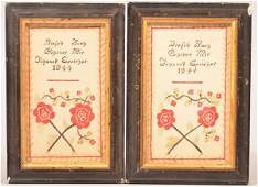 2 Lancaster Co., PA Amish Watercolor & Ink Bookplates.