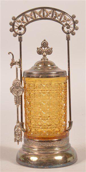 Victorian Pickle Castor.