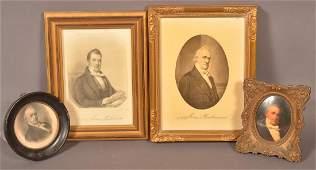 4 Framed Pictures of James Buchanan