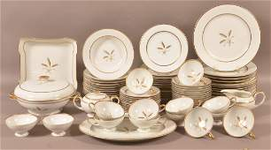 Rosenthal 84 Pc Bountiful Pattern Dinner Service