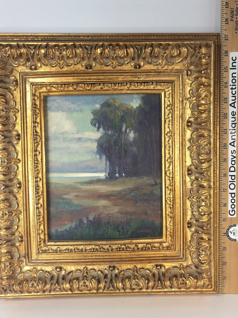 "William Dorsey California Landscape Painting 17""X14"" - 4"