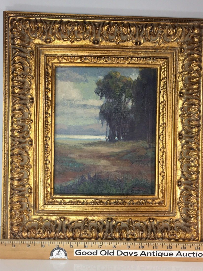 "William Dorsey California Landscape Painting 17""X14"" - 5"