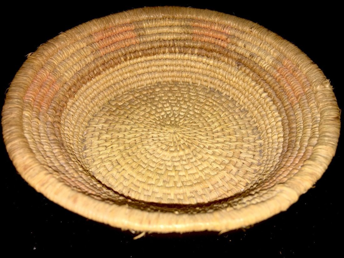"Native American Indian Gambling basket 5 1/2"" Dia - 2"