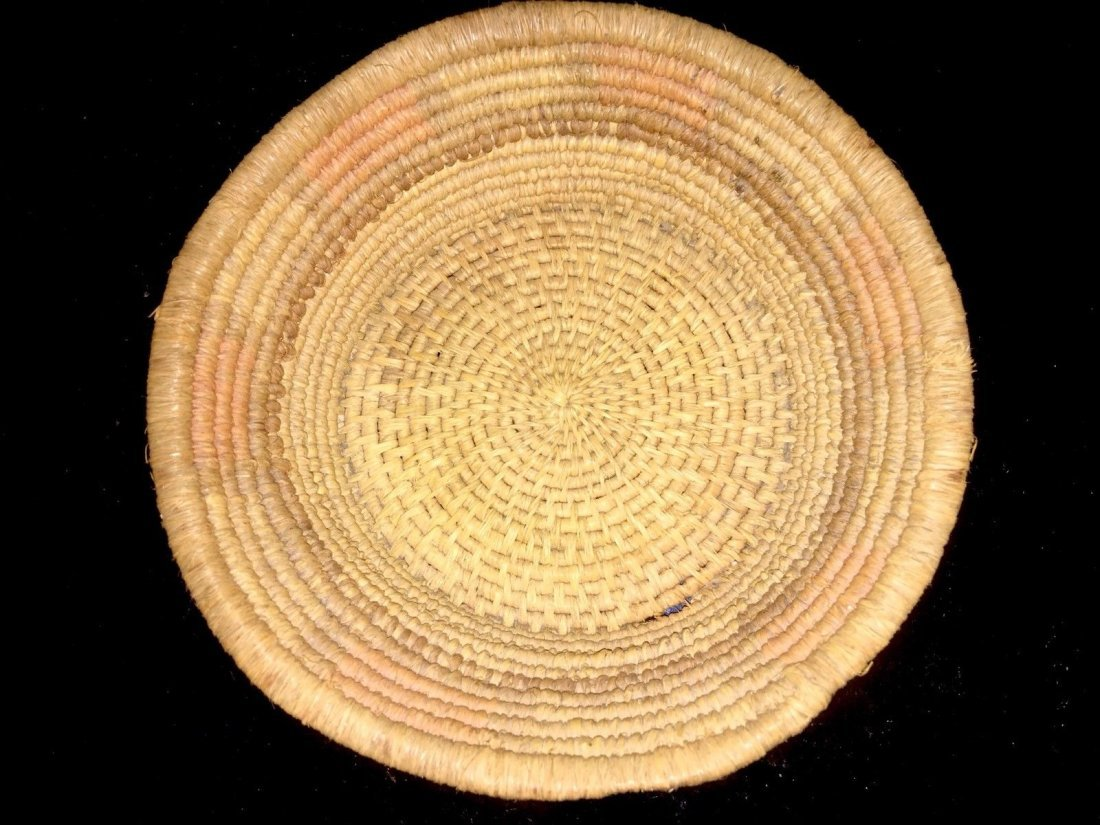 "Native American Indian Gambling basket 5 1/2"" Dia - 5"