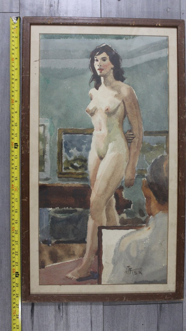 """HARRY T. FISK(AMERICAN 1888-1948)titled """"Princess"""" - 9"""